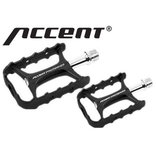 Accent 600-10-49_acc pedały  volume łożyska maszynowe, czarno-srebrne, aluminiowe