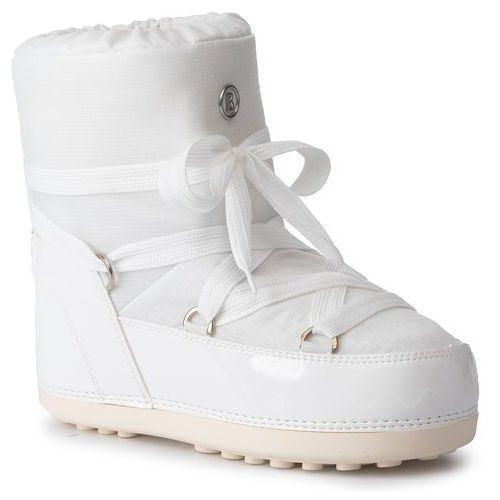 Śniegowce - trois vallees 11 393-1504 white 10 marki Bogner