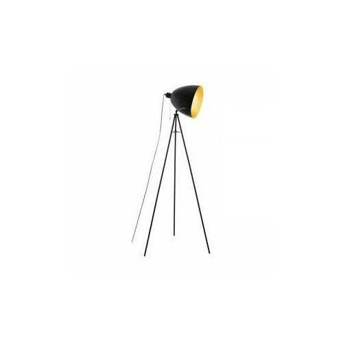 Eglo 43008 - lampa podłogowa hunningham 1xe27/60w/230v