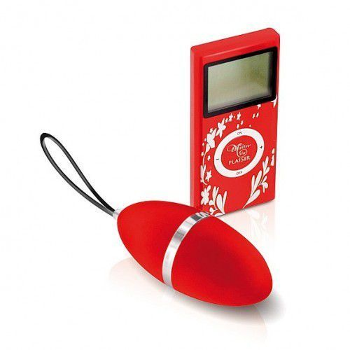 Jajeczko wibrujące Plaisirs Secrets - Vibrating Egg Red