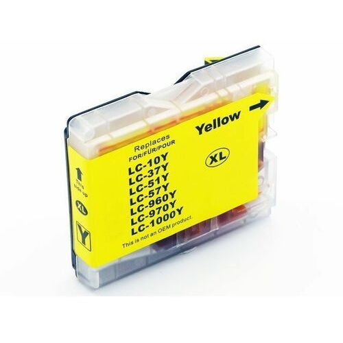 Tusz żółty lc1000y / lc970y do brother dcp 135c / dcp 150c / 357c / nowy zamiennik / 20ml marki Dd-print