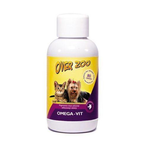 Over Zoo Omega Vit dla psów i kotów suplement diety na sierść i skórę