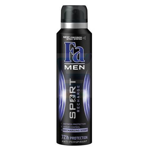 Fa Men Sport Recharge Dezodorant spray 150ml - produkt z kategorii- Dezodoranty dla mężczyzn