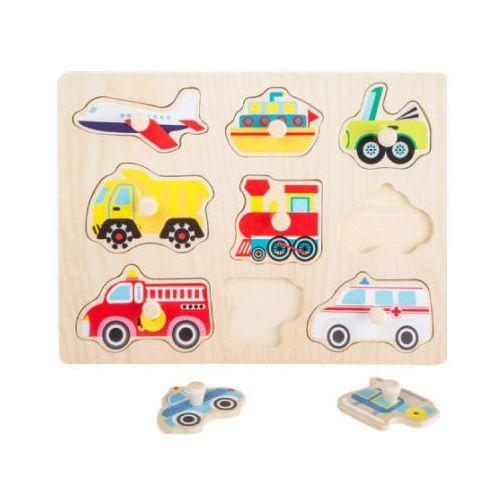 Puzzle transport - kreatywna układanka dla dzieci marki Small foot design