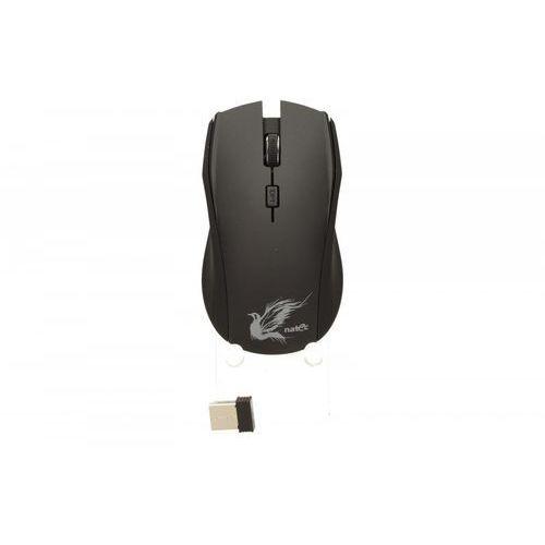 Natec Mysz z cichym klikiem blackbird optyczna bezprzewodowa nano 2.4ghz (5901969400038) - OKAZJE
