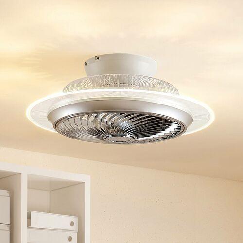 Lindby Yolina wentylator sufitowy LED ze światłem