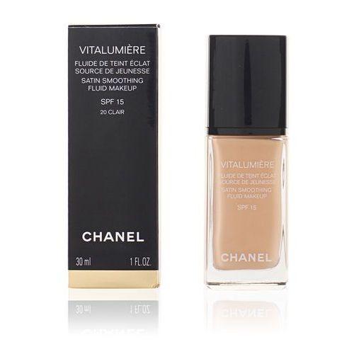 Chanel Vitalumiere podkład w płynie odcień 20 Clair (Satin Smoothing Fluid Make-Up SPF 15) 30 ml, 115