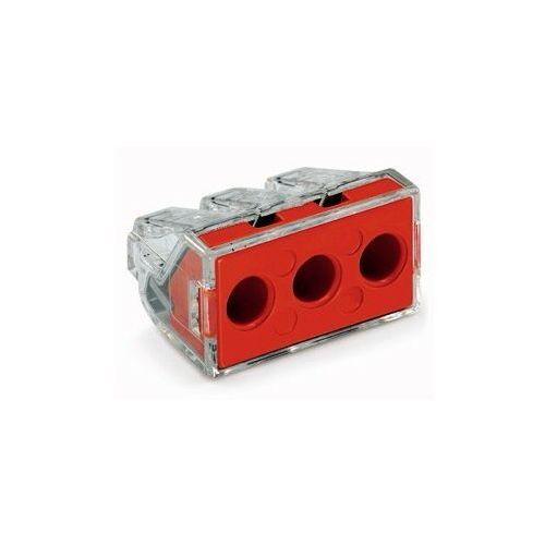 Złączka instalacyjna 3x6mm czerwona 773-173 marki Wago