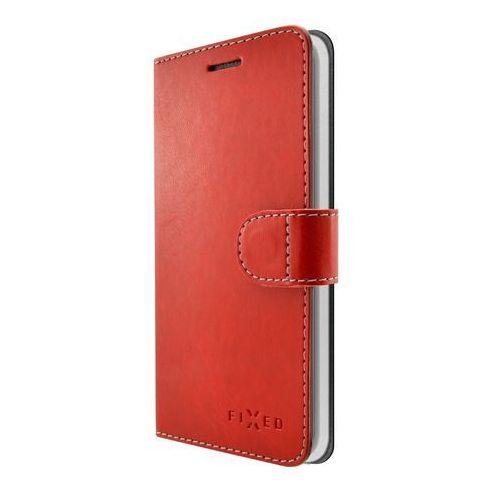 Fixed Etui ochronne Fit do Samsung Galaxy J3 (2017), czerwone