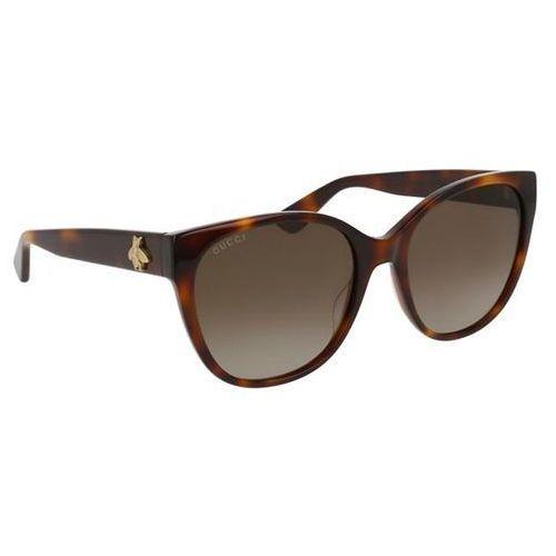 Okulary Słoneczne Gucci GG0097S Polarized 006