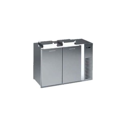 Schładzarka na odpady z dnem nieizolowanym 240 l, 1080x866x1346 mm | DORA METAL, BLOD-1240