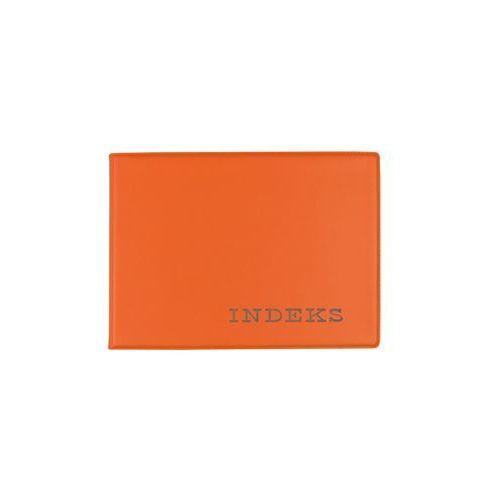 Okładka etui na indeks twarda z folii PVC pomarań - pomarańczowy (5907214708515)