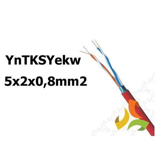 Przewód yntksyekw 5x2x0,8mm2 do obwodów p.poż 100mb marki Bitner