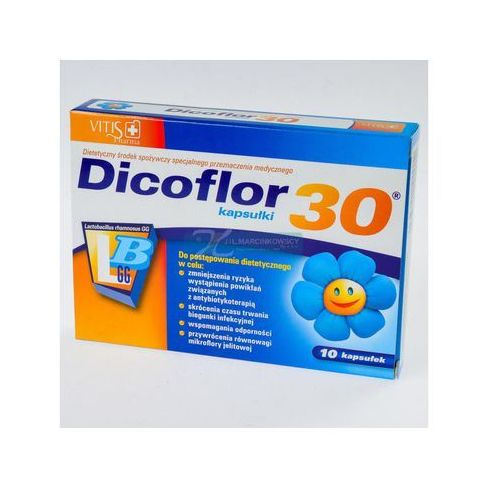 Kapsułki Dicoflor 30, 10 kapsułek