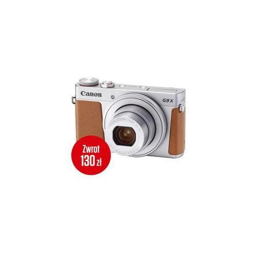 Canon  powershot g9 x mark ii srebrny - cashback 130zł