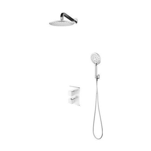 Zestaw prysznicowy, podtynkowy z termostatem sys pm17 crb marki Omnires