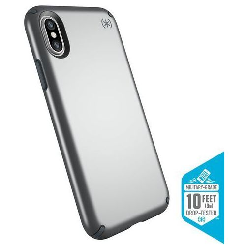 presidio metallic etui obudowa iphone x (tungsten grey metallic/stormy grey) marki Speck