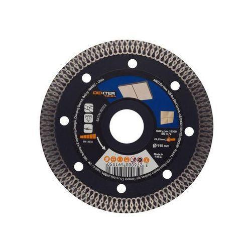 Tarcza diamentowa TURBO DO GRESU 115X1.6X22.2 MM DEXTER PRO (3276000591030)