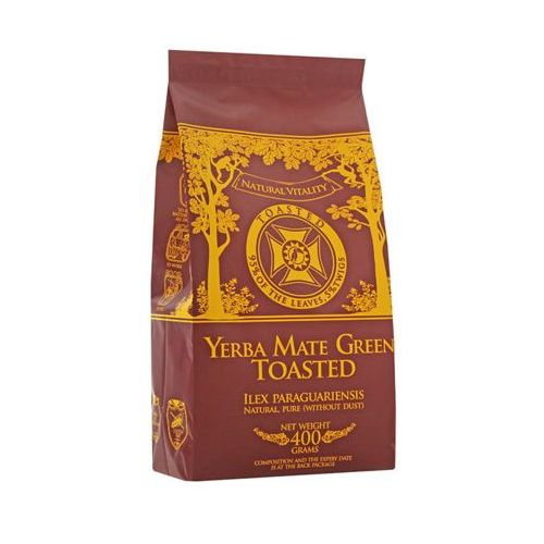 400g toasted palona marki Yerba mate green