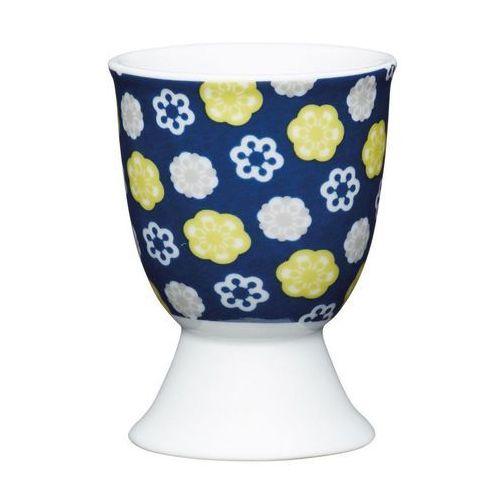 Kieliszek do jajka Kitchen Craft floral blues (5028250676399)