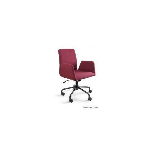 Unique meble Krzesło biurowe bravo czerwone