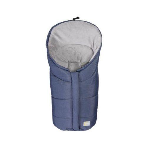 Fillikid śpiworek zimowy eiger do fotelików samochodowych melange blau