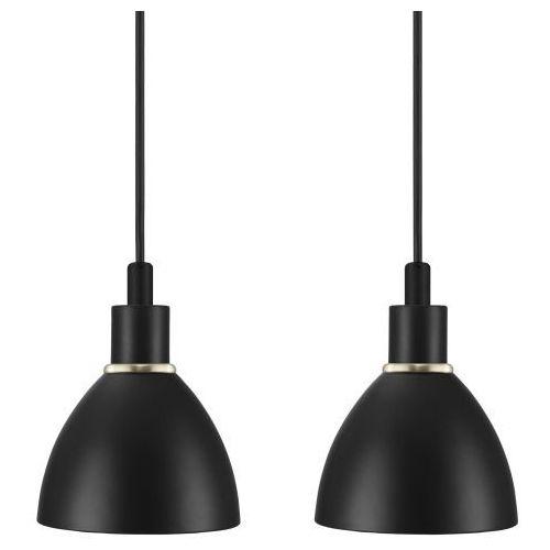 Nordlux RAY Lampa wisząca Czarny, 2-punktowe - Design - Obszar wewnętrzny - RAY - Czas dostawy: od 2-3 tygodni (5701581345287)