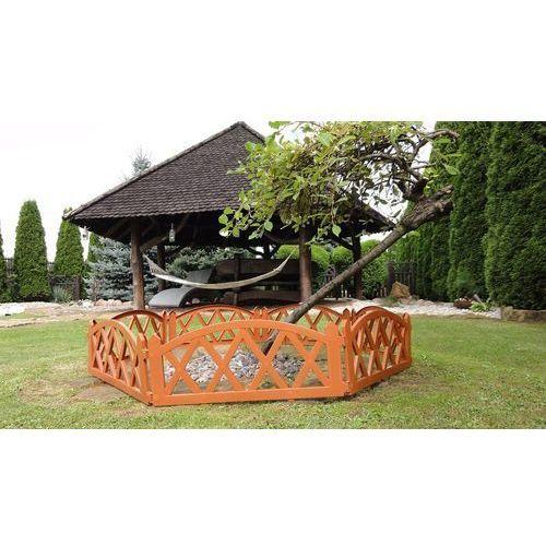 Płotek ogrodowy, 2,3 m terakota wyprodukowany przez 4home