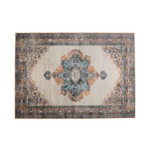 Dutchbone dywan mahal niebieski/bordowy 200x300 6000259