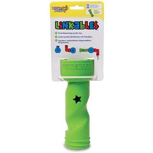 Premier Linkables twist - zielony element zabawki modułowej