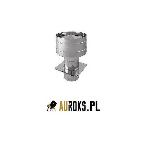 Darco Wywietrzak dachowy cylindryczny podstawa kwadratowa bl. ocynkowana fi 160