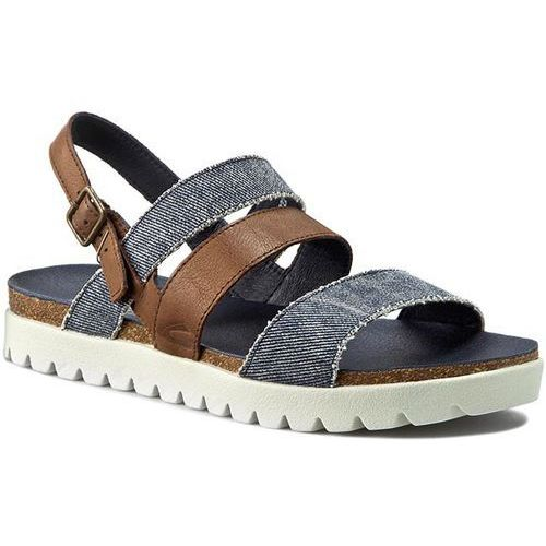 Sandały - 822.75.01 bison/jeans, Camel active, 36-37
