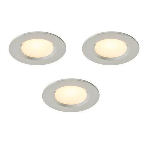 Oczko LED Colours Thorold 2700/4000 K okrągłe chrom 3 szt. (3663602460602)