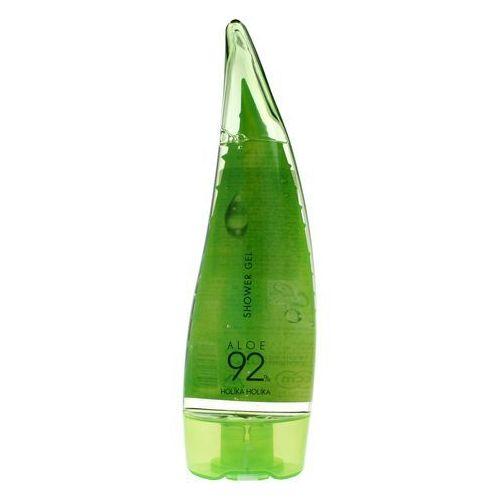 Holika Holika Aloe 92% Shower Gel - Żel pod prysznic z 92% zawartością soku z aloesu 250ml