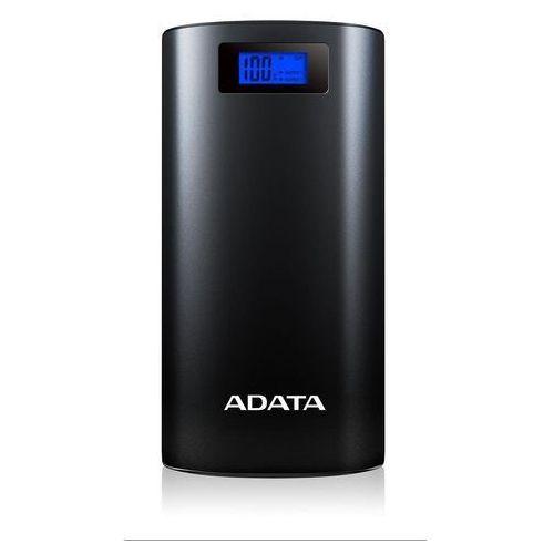 Powerbank ADATA P20000D, 20000mAh (AP20000D-DGT-5V-CBK) Szybka dostawa! Darmowy odbiór w 20 miastach!, AP20000D-DGT-5V-CBK - OKAZJE
