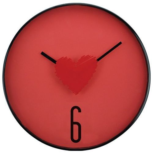 Splendid Zegar ścienny Heart 31 cm x 31 cm x 4,2 cm (5908262408921)