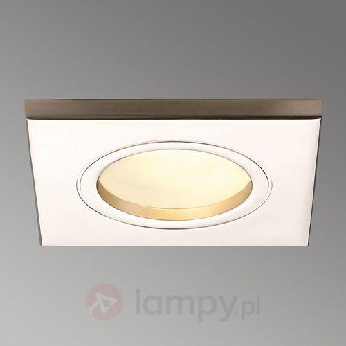 Oprawa wpuszczana łazienkowa SLV DOLIX OUT SQUARE TITANIUM 35W G5,3 IP65 (4024163080347)