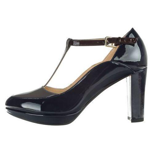 Clarks  kendra daisy heels niebieski 36