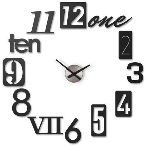 Zegar ścienny Umbra Numbra black, 118430-040-ML