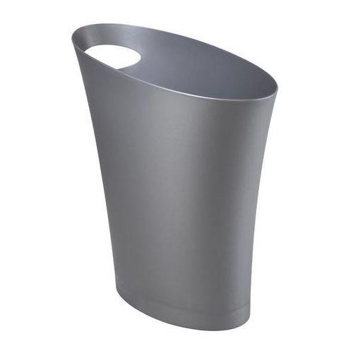 Kosz na śmieci Skinny - srebrny
