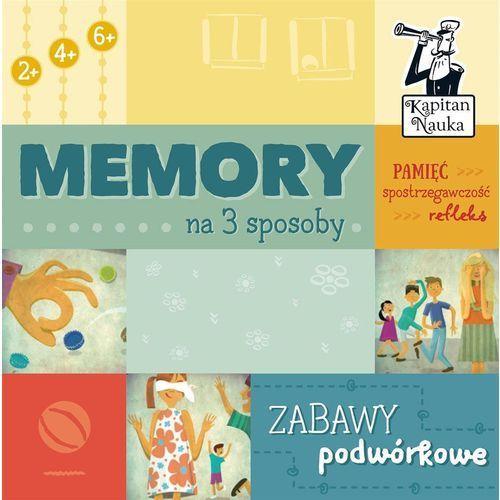 Edgard Kapitan nauka memory na 3 sposoby zabawy podwórkowe - (9788377885666)
