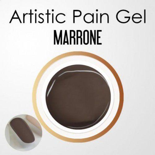 Nails company artistic paint gel pasta 5g - marrone (czekoladowy) marki Nc nails company