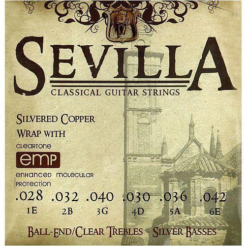 Cleartone Sevilla Classic Tie-on Regular Tension struny do gitary klasycznej