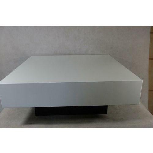 D2.design Stolik small quadrat 80 biały wenge 30 o utlet - d2 design - zapytaj o rabat!