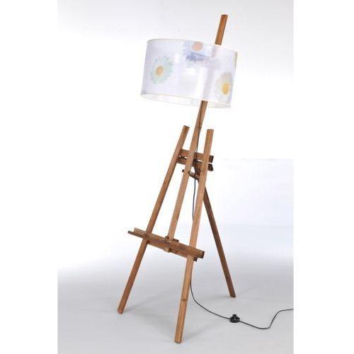 Lampa stojąca sztaluga dark wood nr 2467 marki Namat