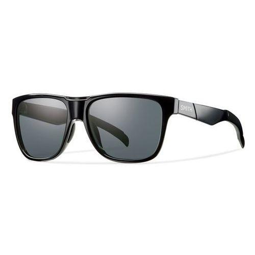 SMITH - Lowdown/N Shiny Black Grey Pz (D28-56EE), kolor czarny