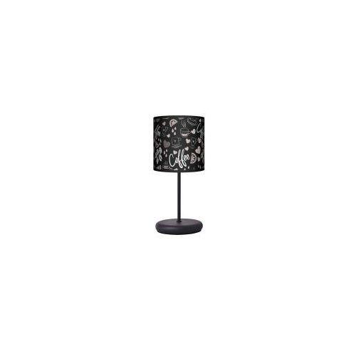 Lampa stojąca eko - coffee time black marki Lampy