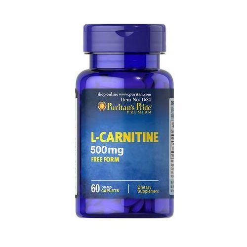 Tabletki Puritan's Pride L-Karnityna 500 mg 60 tabl.