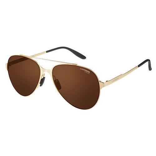 Okulary Słoneczne Carrera 113/S The Impel Maverick J5G/W4, kolor żółty
