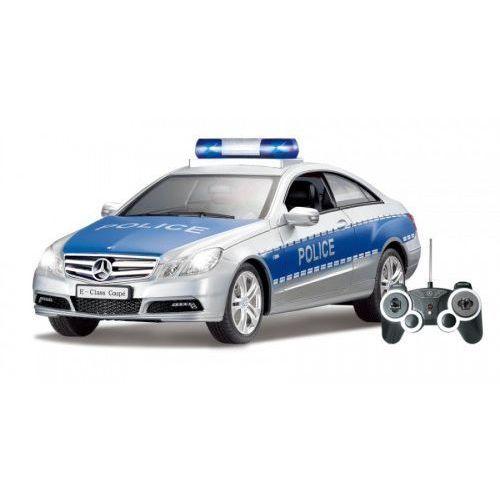 Samochód policyjny Mercedes Klasy E (1:16)